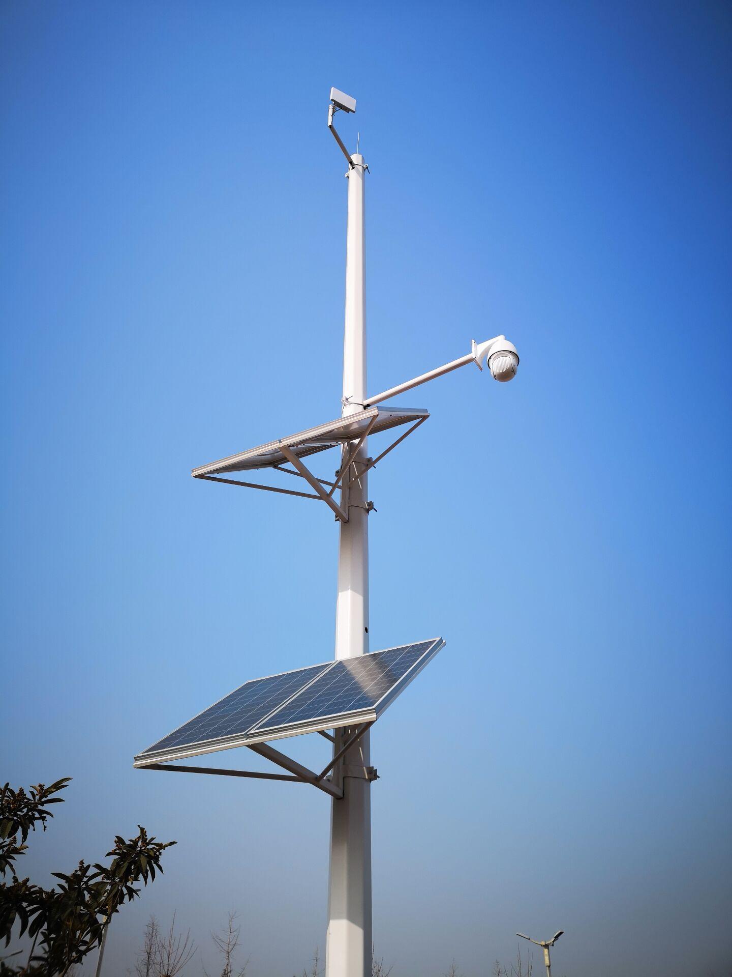 森林公园太阳能无线监控案